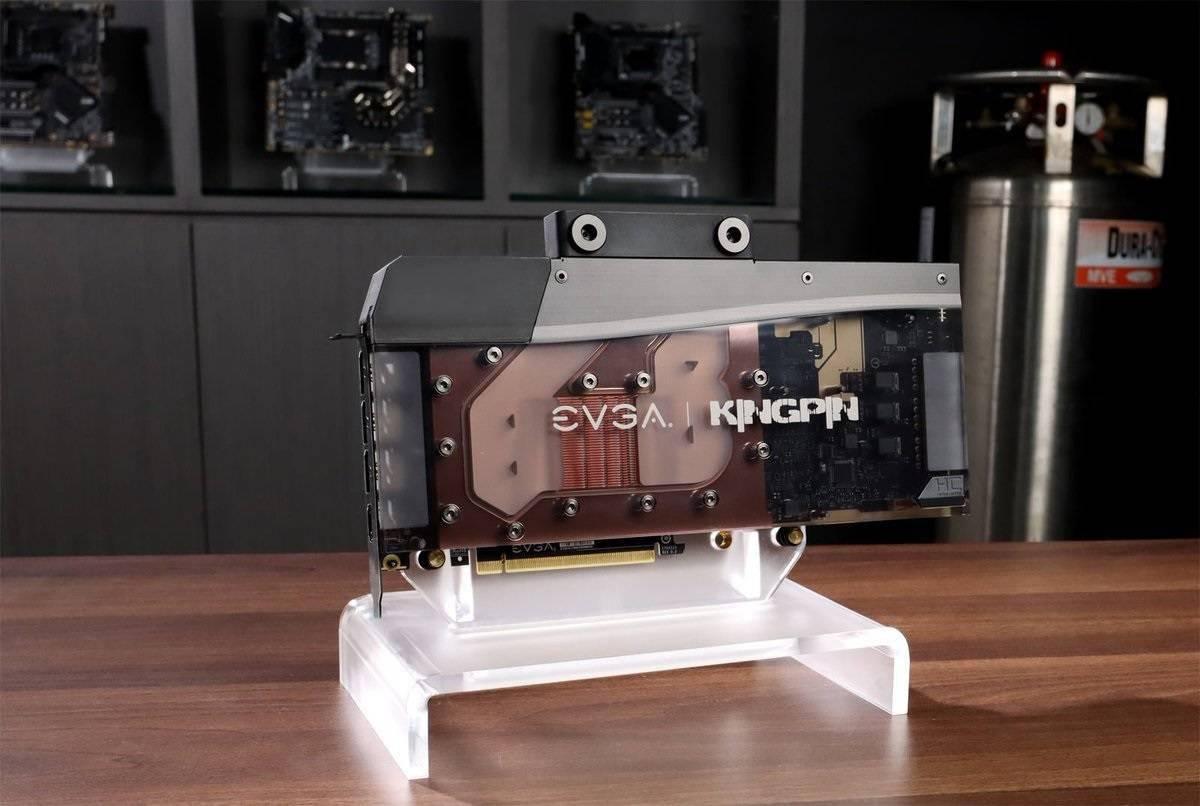 EVGA发布3090 KINGPIN Hydro铜定制水冷显卡:23相电源