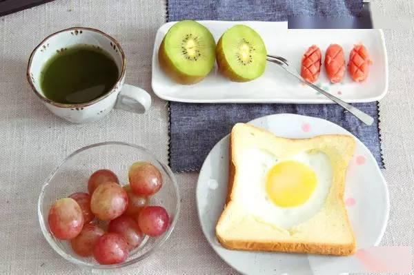 如果有这样的早餐,我绝对不赖床!