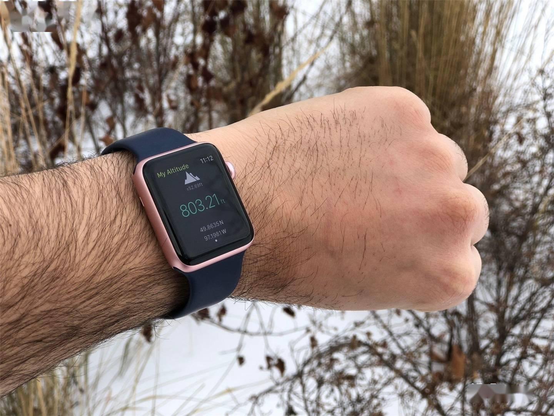在异常天气条件下,Apple Watch可能会显示不正确的高度信息