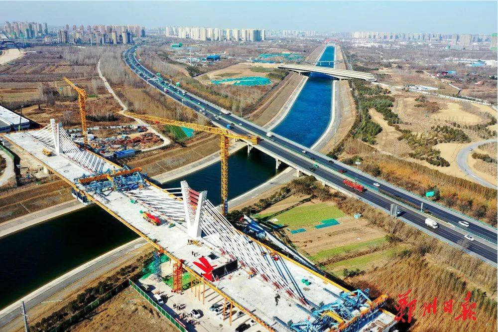 市民出行将更便捷!郑州这座特大桥主桥今天顺利合龙了