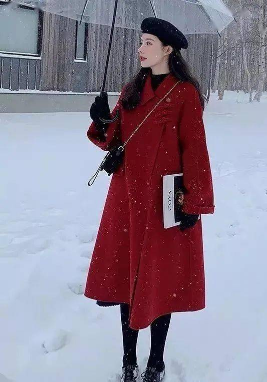 新年红,时髦又喜庆!