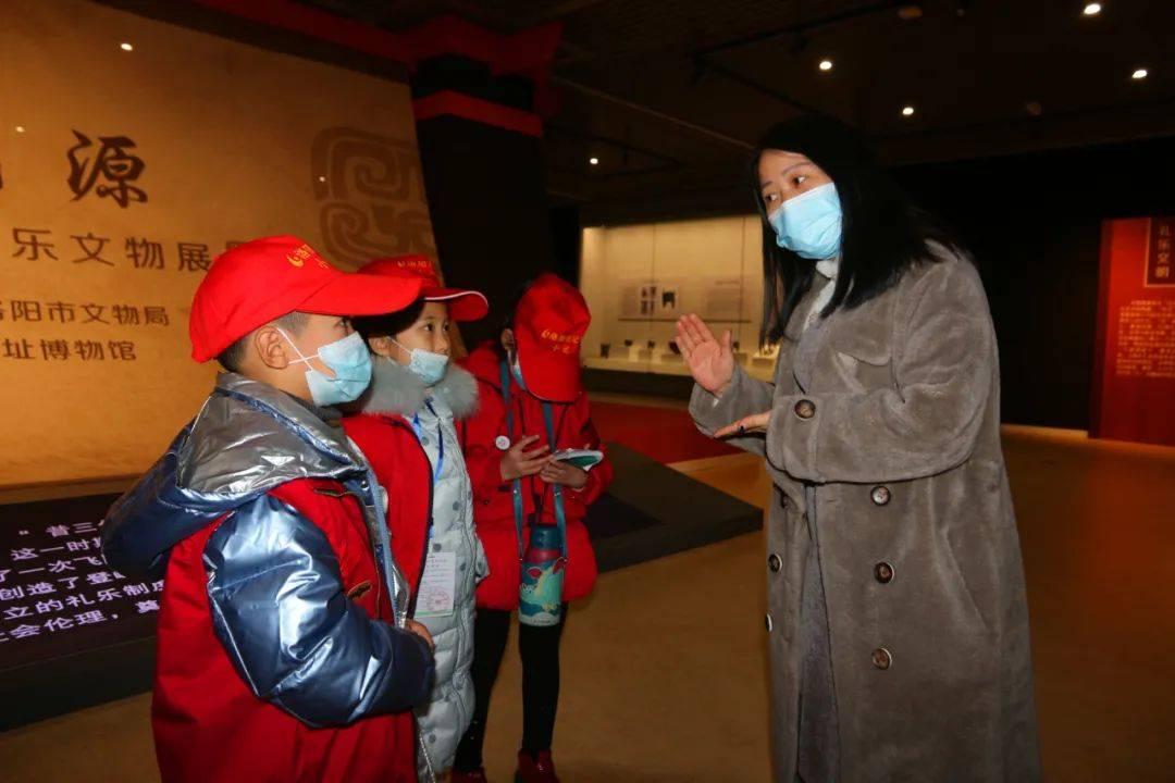 二里头夏都遗址博物馆挂牌成为洛报小记者活动基地!