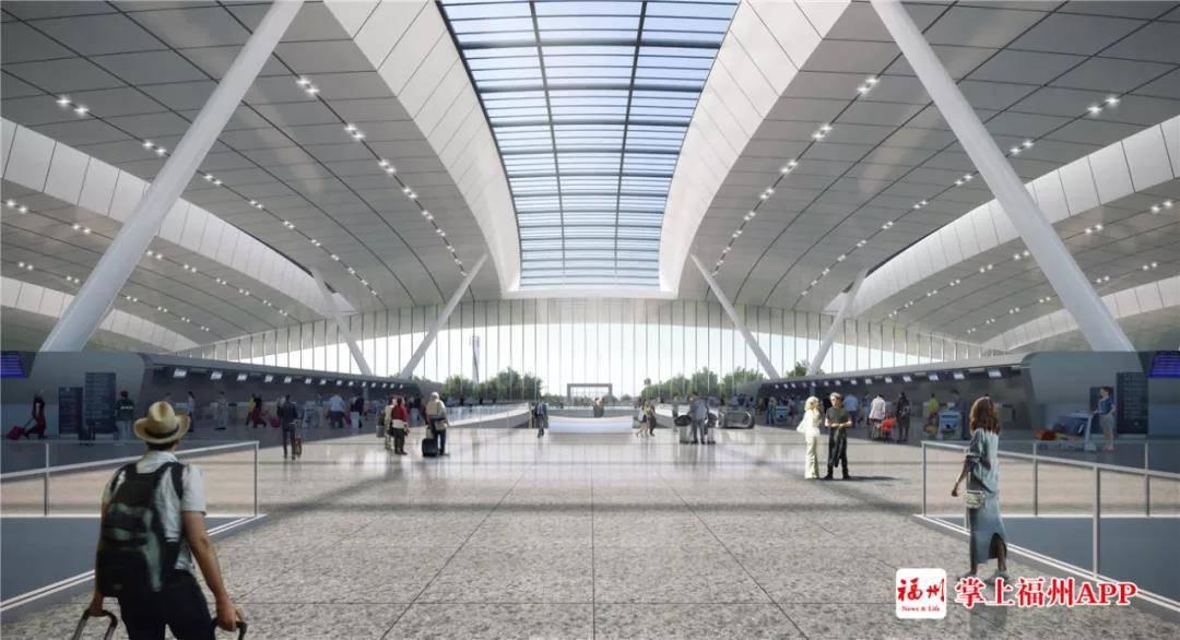 高铁进机场!长乐机场重磅配套工程今年6月开建!预留地铁线