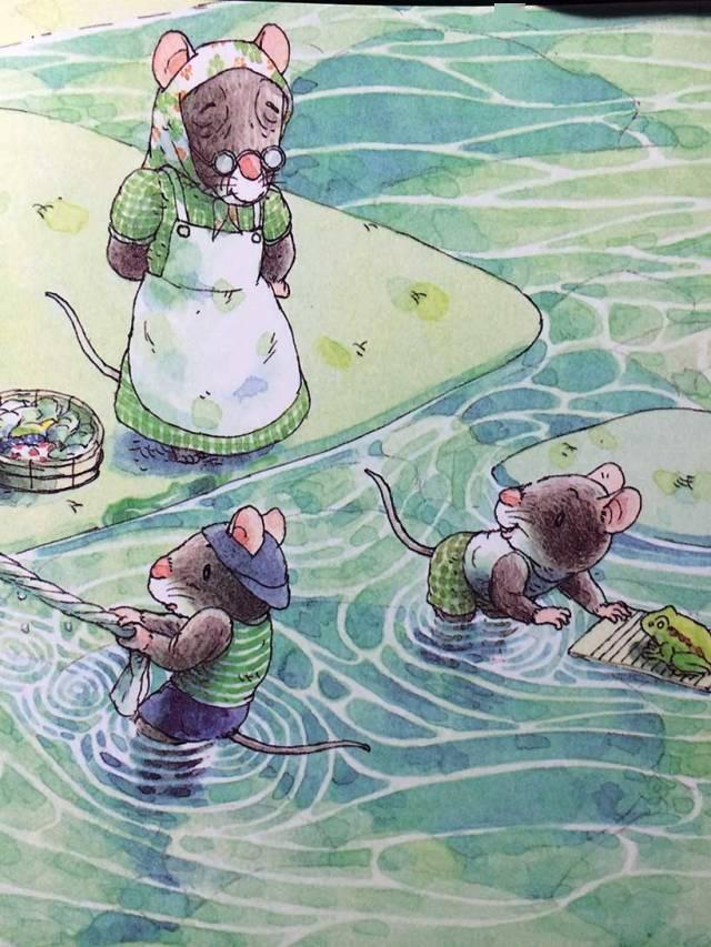 有声绘本:14只老鼠洗衣服  第8张