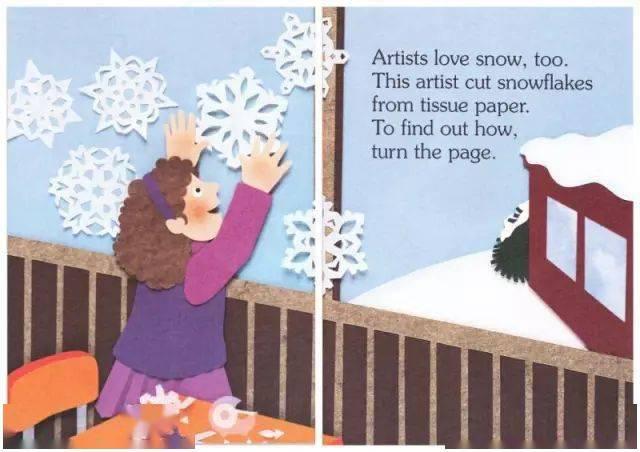 绘本故事:《I Am Snow》我是雪  第13张