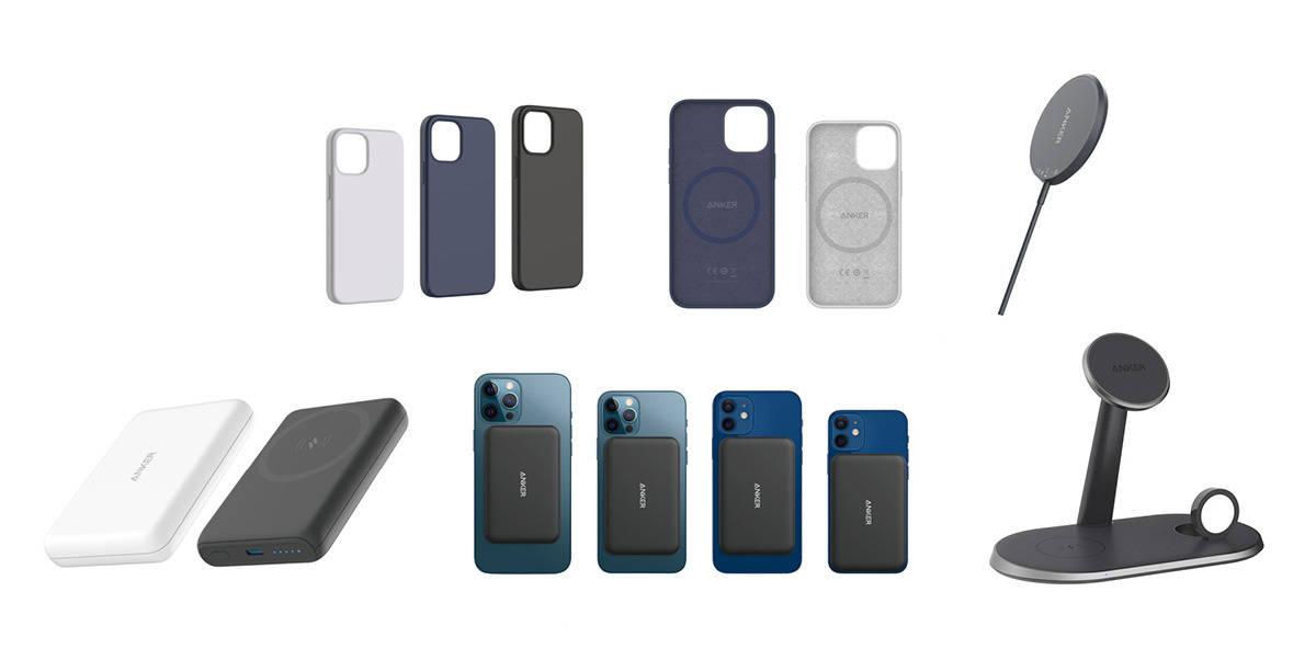 MagSafe 充电宝 / 多合一无线充电座,一大批配件扎堆而来