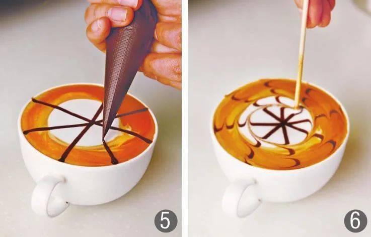 喝杯漂亮的咖啡不是难事,几款简易的雕花咖啡,零基础也能学会
