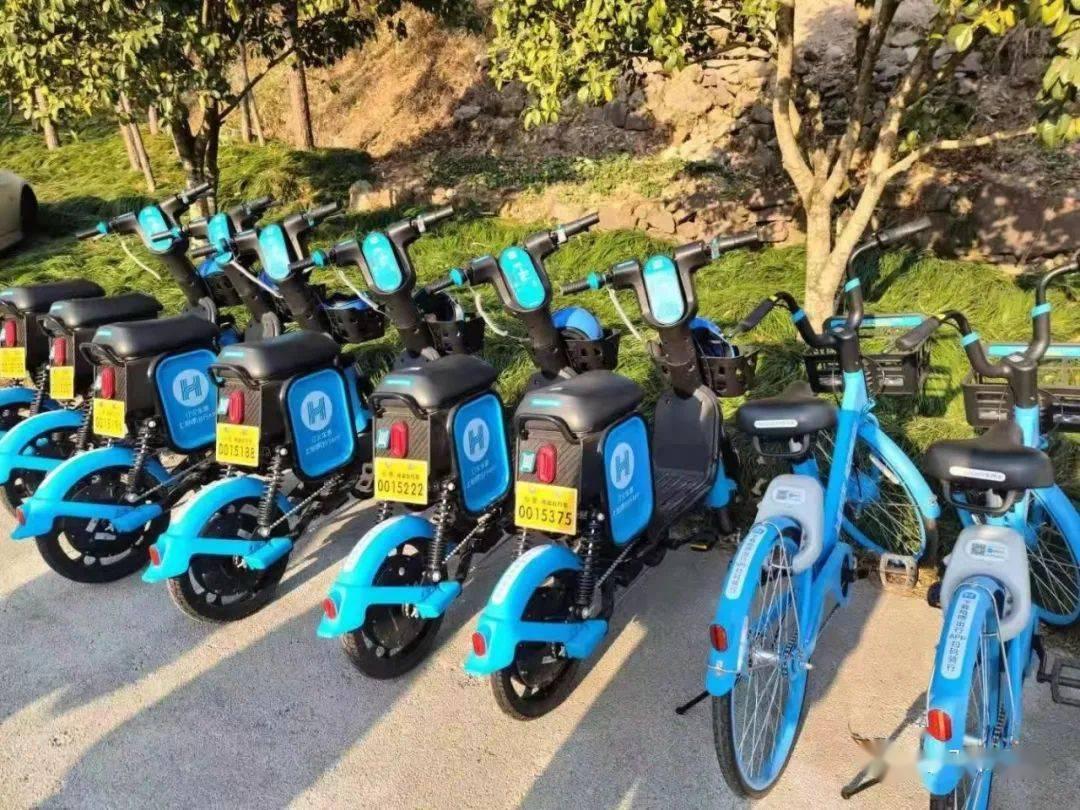 【101巨出行】时尚、便捷!共享电单车亮相仙居街头!
