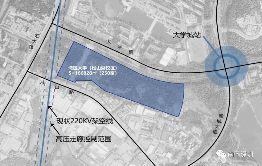 湾区大学即将动工!松山湖校区计划2023年7月前建成