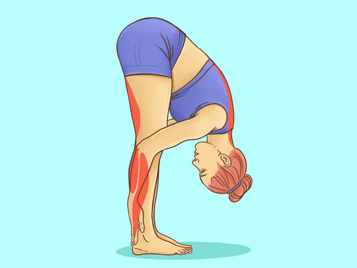 """16个基础瑜伽体式""""效果图"""",初学者练对很重要!_双手"""