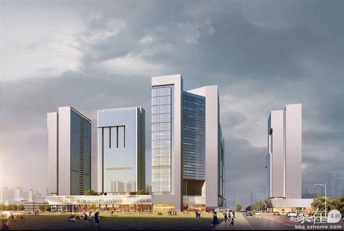 宝安64万平综合体 甲岸村旧改效果图来了,周边房价8万+