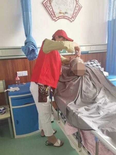 每周益剪活动走进安徽界首市中医院医养院