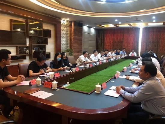 潍坊市委书记惠新安会见地月科技集团董事长张钊一行