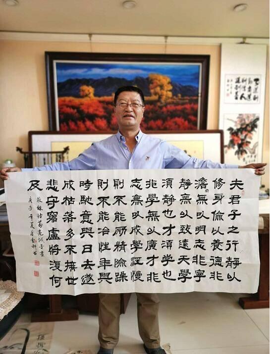 谈王云科先生书画艺术——以书益画,以画益书