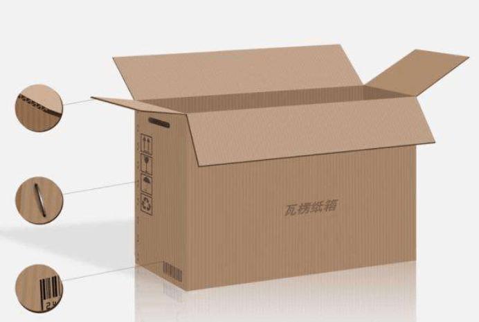 瓦楞纸箱的特點