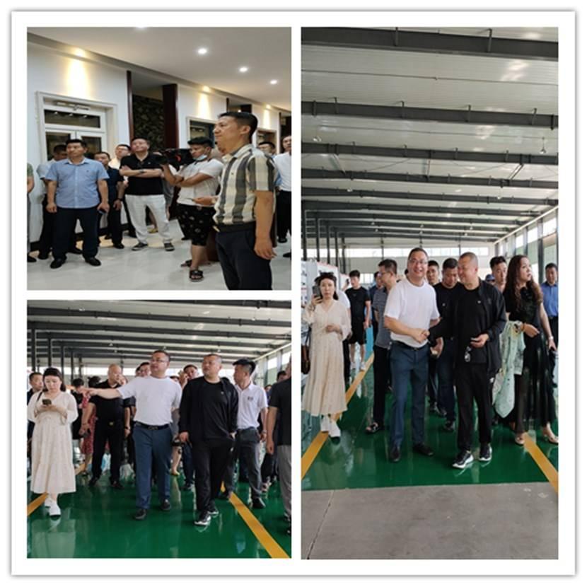 长春市个私协会七部首次大型企业走访