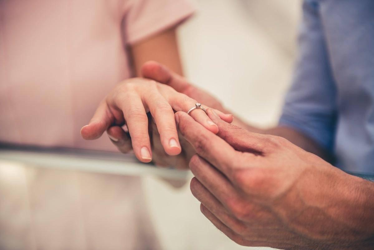 婚戒有就好了 不可以让它成为我们的负担
