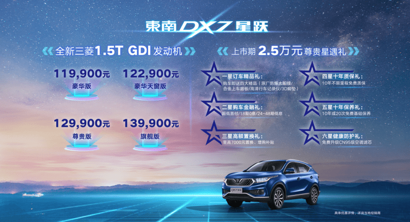 东南DX7星跃上市 售价11.99-13.99万元-英雄联盟s10下注-lols10平台|官网-登录_押注_首页