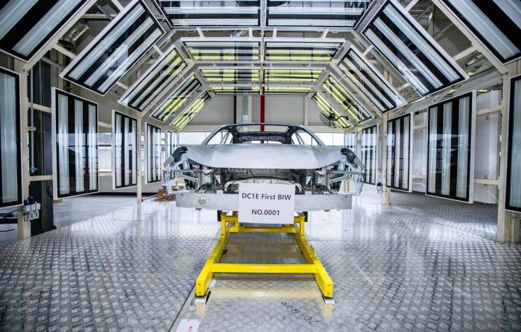 领克ZERO CONCEPT量产版白车身下线-N2全球网