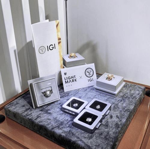 LightMark小白光携手IGI进驻进博会,联手奠定培育钻石行业最高标准