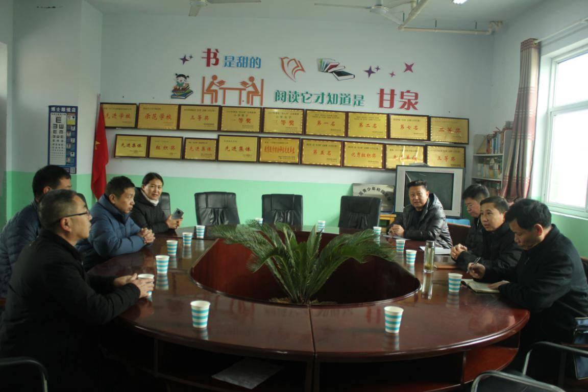 民盟河南省委赴安阳县、滑县农村小学调研