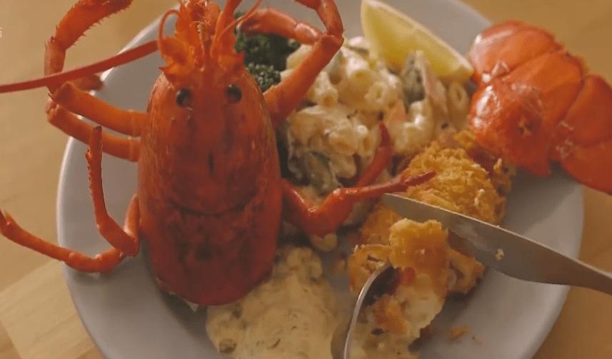 澳洲龙虾的做法视频教程(正宗的芝士焗龙虾做法)插图
