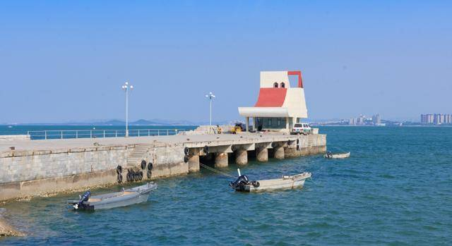 中国最长的海上栈桥,全长有着624米,位于山东烟台市