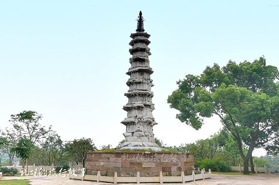 杭州这座古塔 与雷峰塔齐名 塔下有中国最早的导游图却少有人知