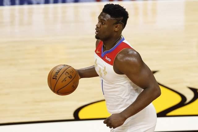 20-21赛季NBA常规赛新奥尔良鹈鹕客场应战犹他爵士