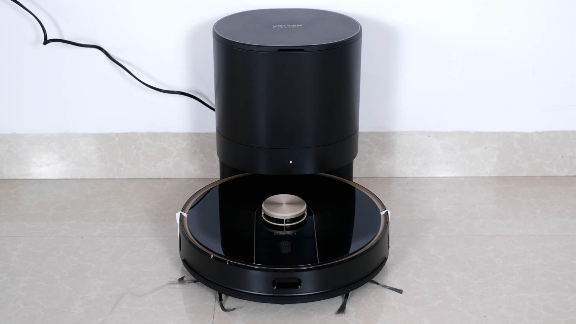 由利V980Plus扫地机器人评测:一站式清扫,解放双