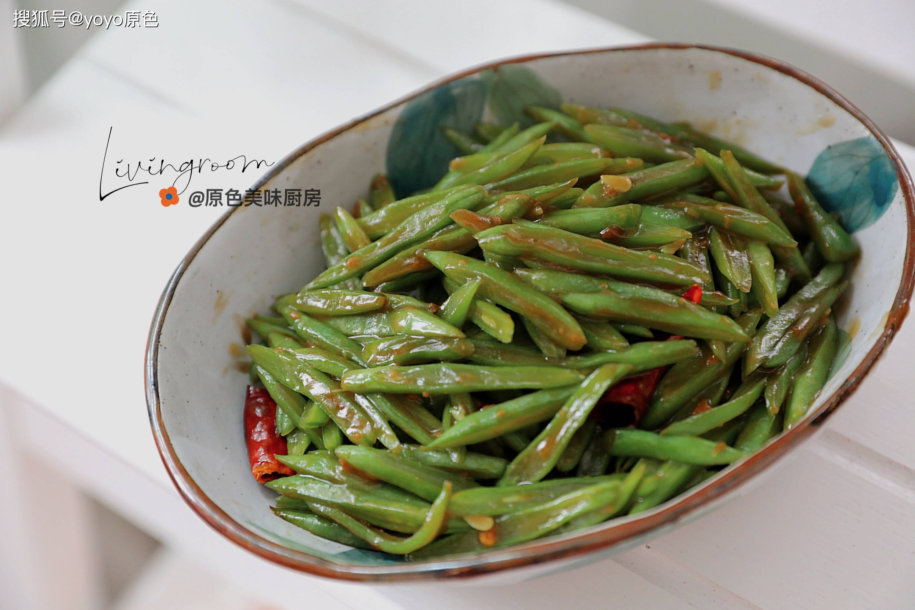 刀豆的家常做法,简单两步就出锅,绝对是下饭菜