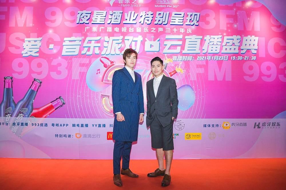 赵宇成在罗钧满的音乐声中惊喜亮相,演绎经典金曲,实力闪耀台庆舞台tvz