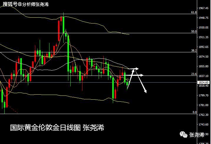 張堯浠:回撤之中博反弹、黄金本周仍偏冲高回落
