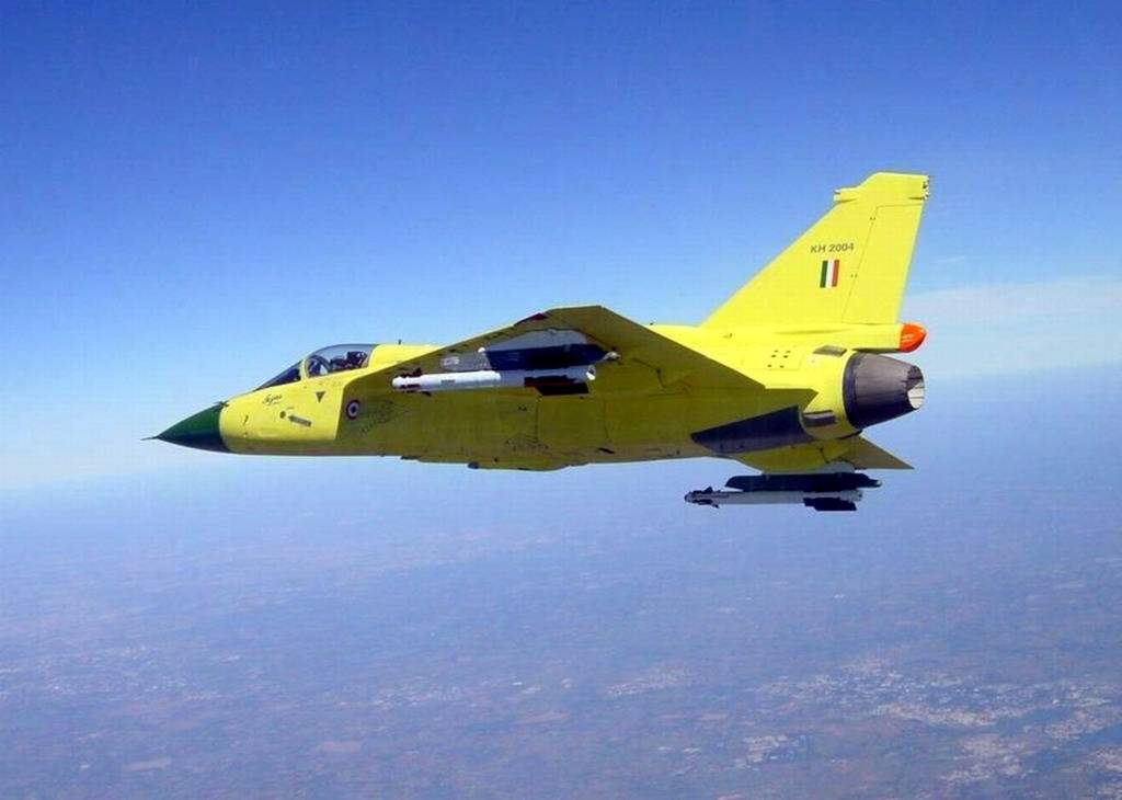 LCA Tejas 2nd prototype with R-73 short range air to air missile