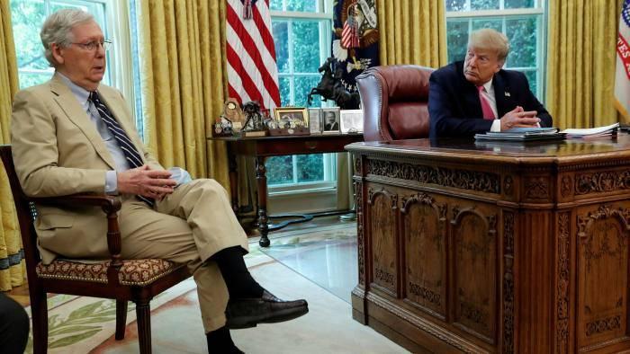 美国风景线:特朗普忘恩负义?刚躲过弹劾,就大骂共和党领袖三流