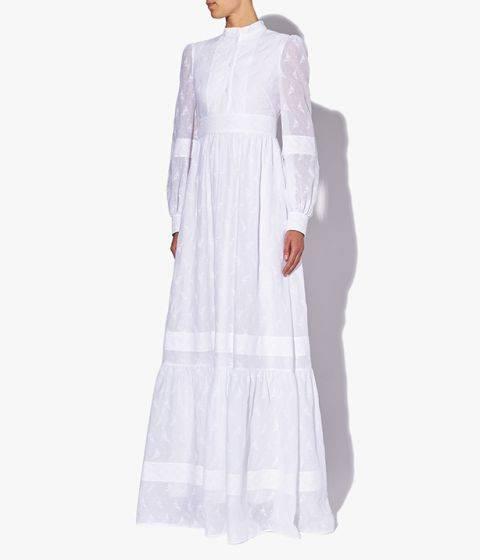 原创             当代新娘的幸福嫁衣:时装品牌Erdem 推出全新White Collection 婚纱系列