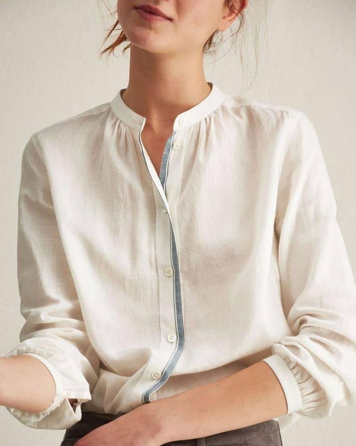 初春单品白衬衫 ,气质搭配