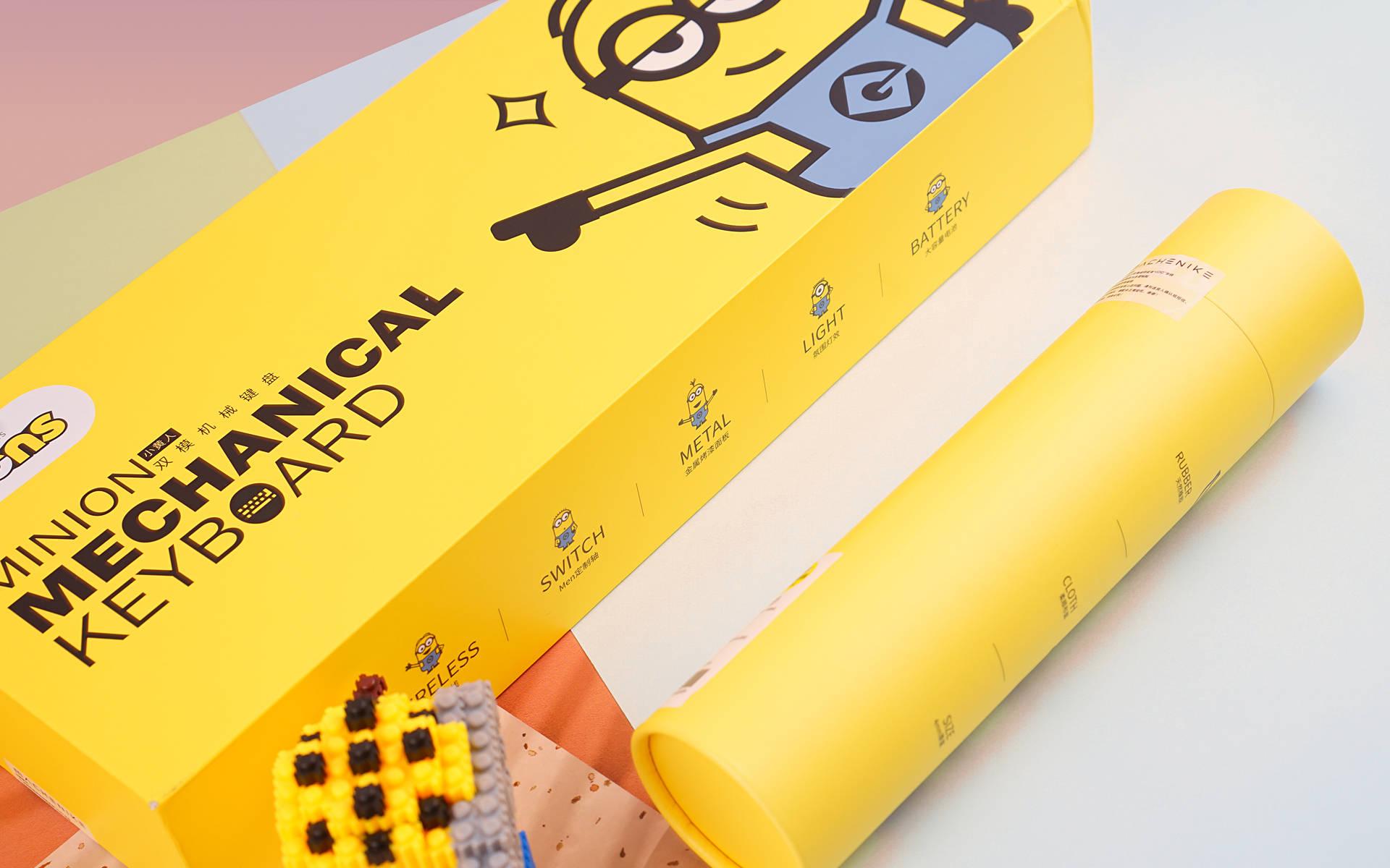 机械师推出小黄人联名款键鼠,体验身临其境的游戏方案!