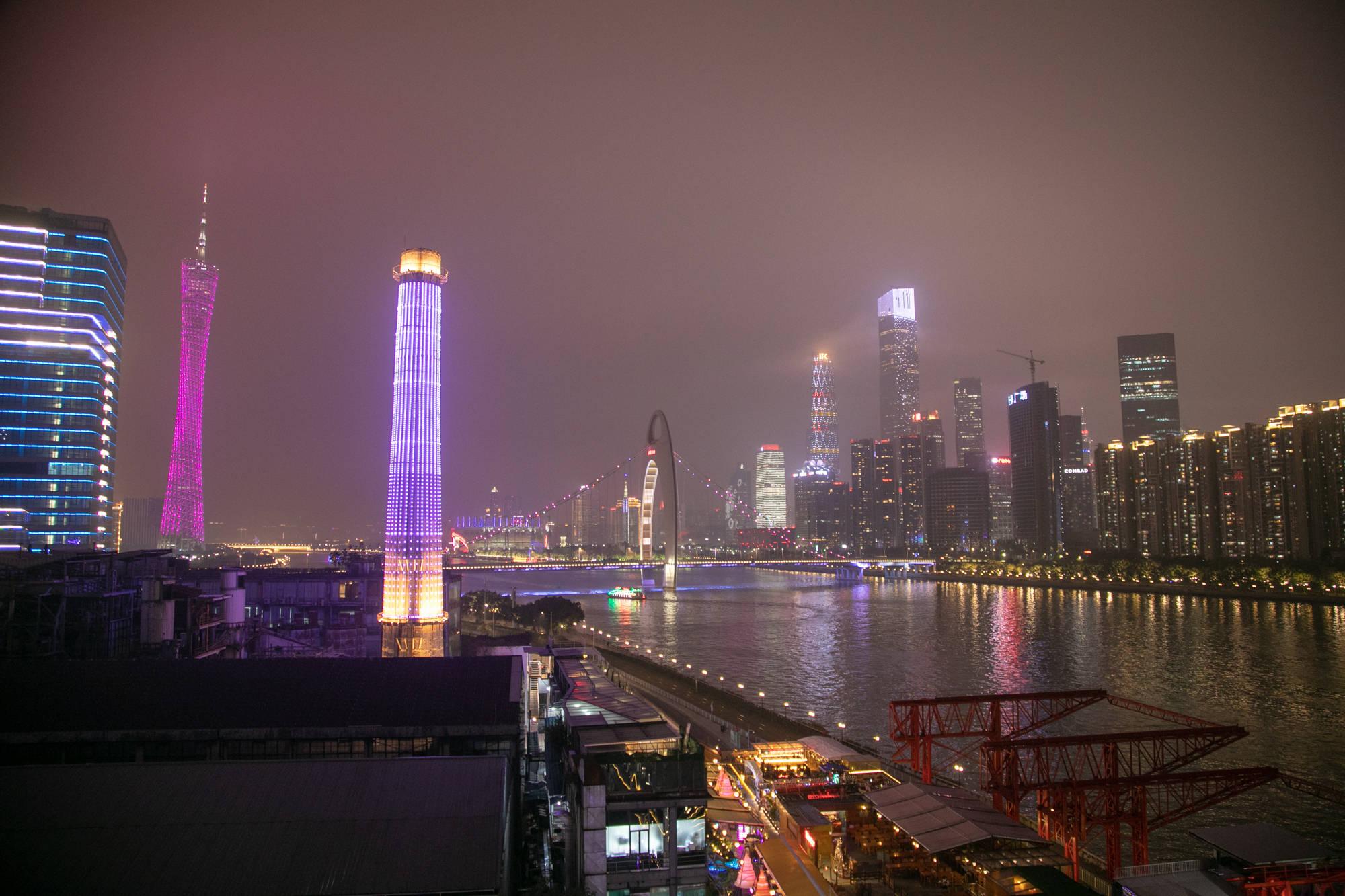 原创             中国五大最美夜景城市,广州、上海、重庆,哪个更具国际范儿?