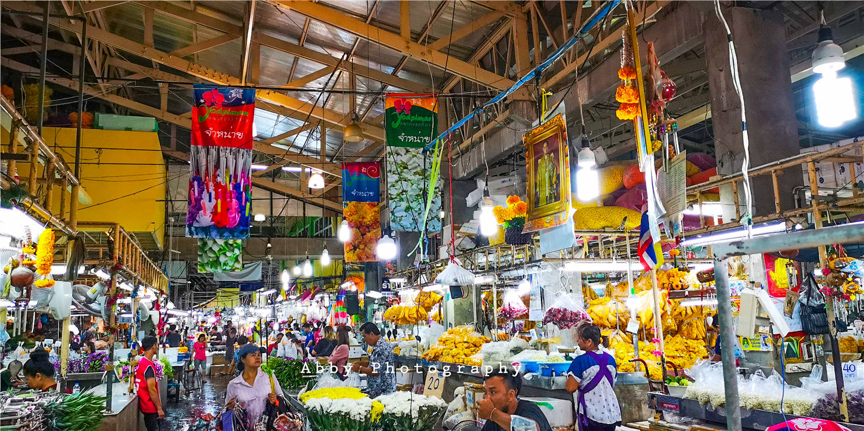 春暖花开的时节,在泰国别错过曼谷最大的花市,一束鲜花不到5元