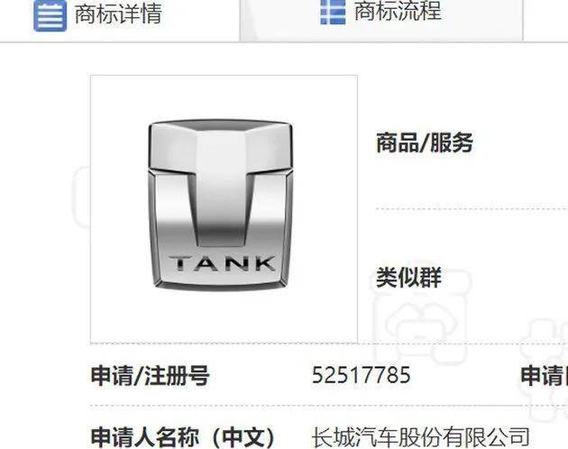 """原坦克列为子品牌""""T"""",新标准暴露了中国硬核越野车的希望。"""