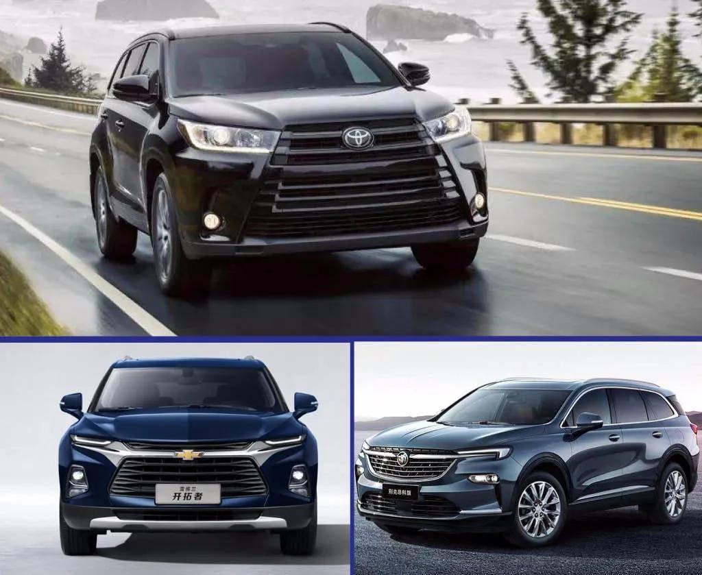 有的原价上涨没有现有车,有的全国打八折卖,三家合资企业有7个SUV市场调查