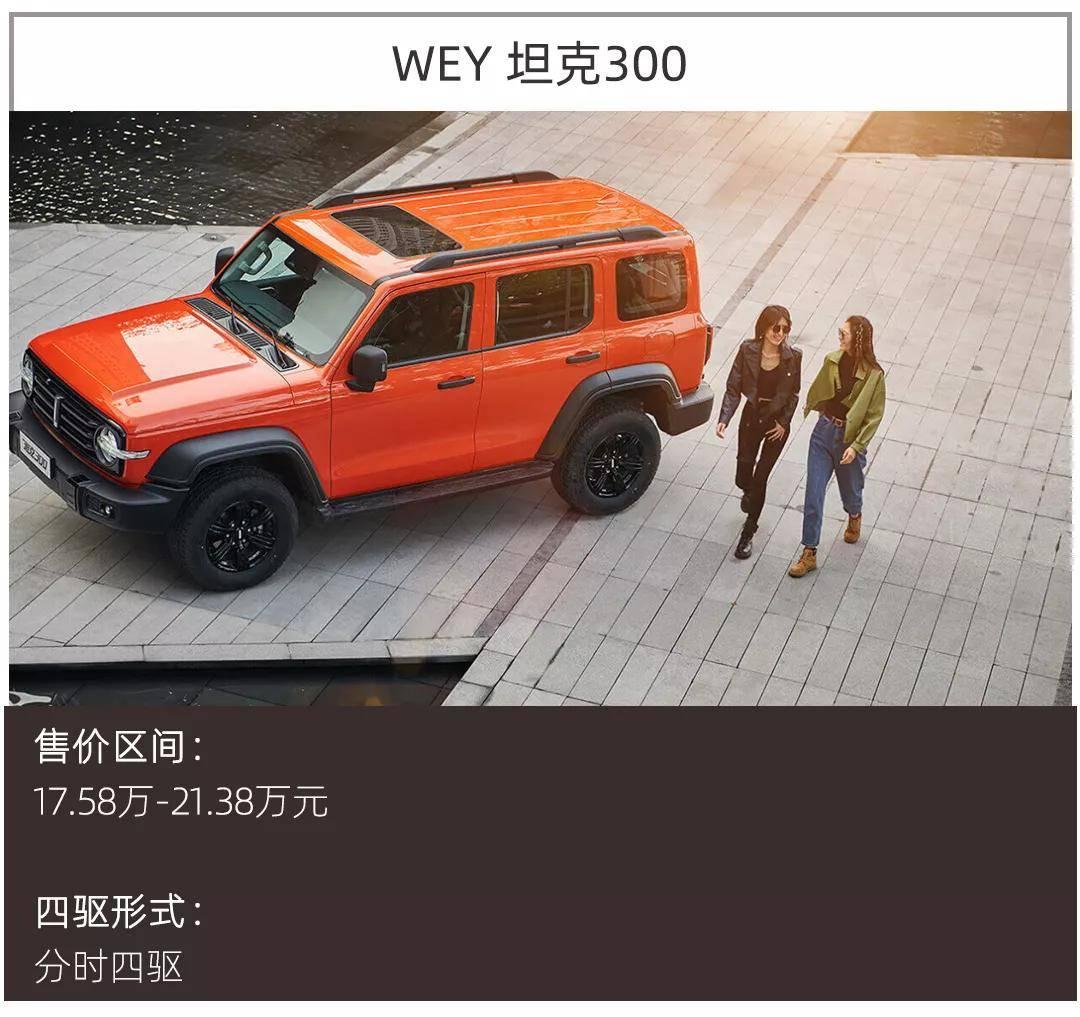 除了原来的WEY Tank 300,这款20万的硬核SUV也是不错的选择!