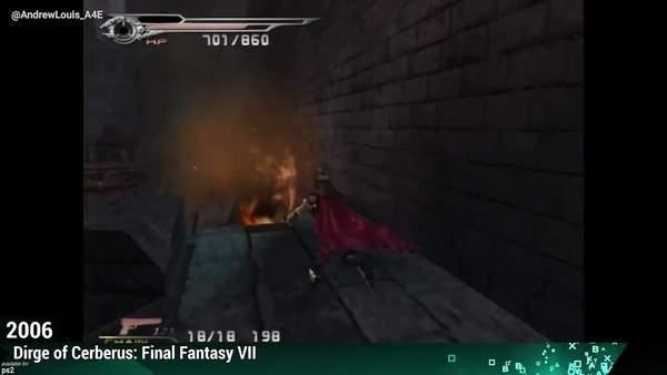 《最终幻想7》1997-2021年进化史 玩法与类型不断变化