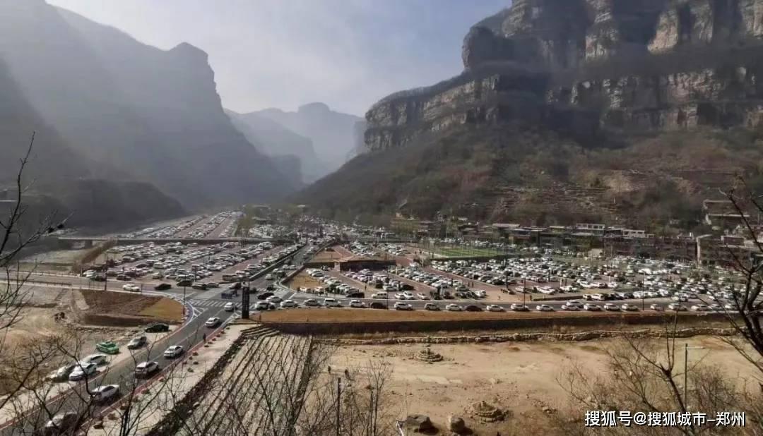 2021太行大峡谷开门红,游客热情持续高涨!