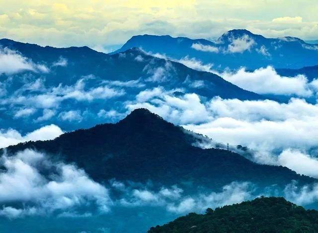 """我国不该被""""忽视""""的一座山,景色不亚于泰山,有99座山峰相连"""