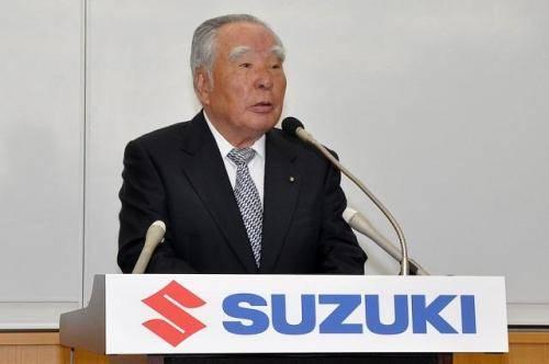 汽车圈年龄最大的铃木董事长,终于退休了!