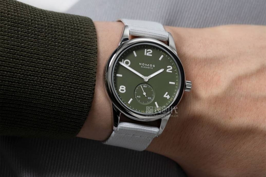 原创             2021年第一波绿色腕表盘点!