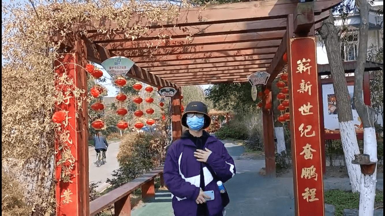 川农学子进行春节景区经济形式调研