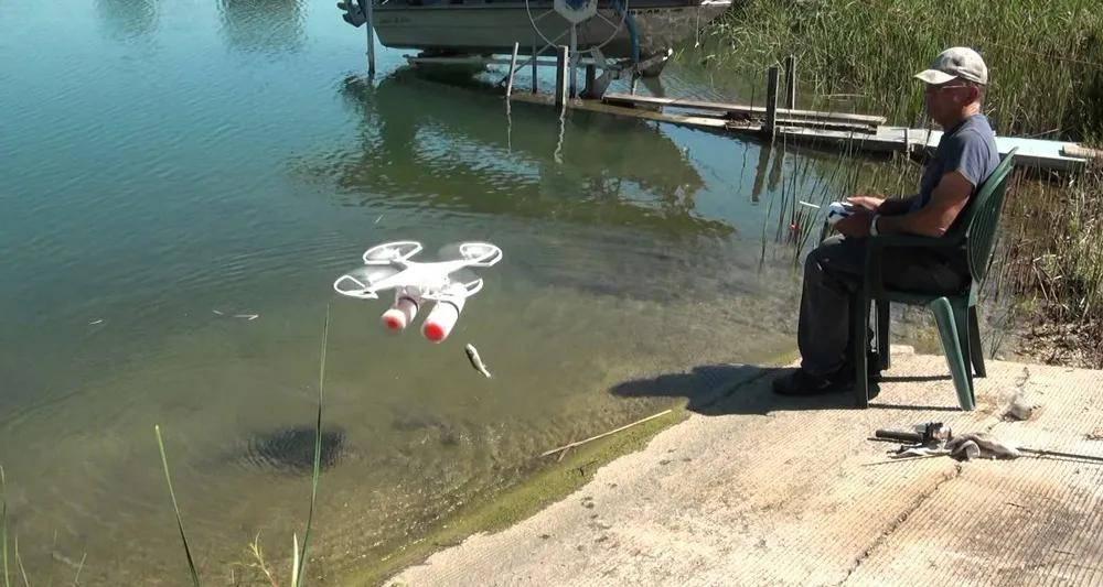 还被美国媒体评为2020年最佳垂纶无人机之一